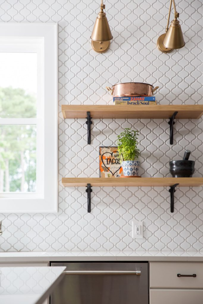 Wawona kitchen shelves